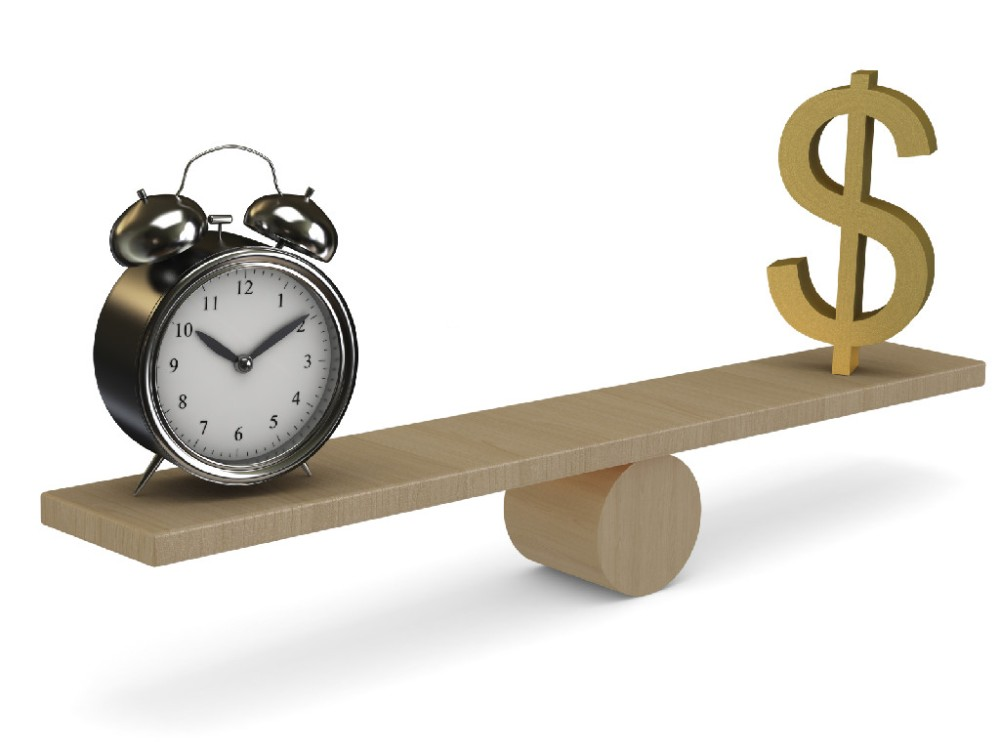 Time Does NOT Equal Money!
